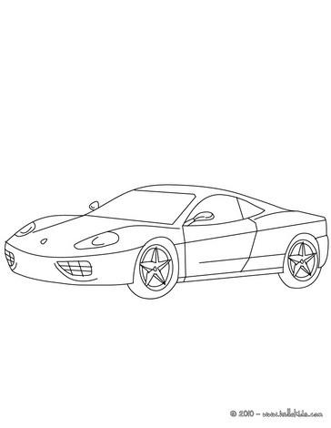 Ferrari 360 modena zum ausmalen zum ausmalen de - Porche para colorear ...