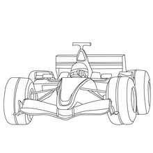 Formel 1 zum Ausmalen