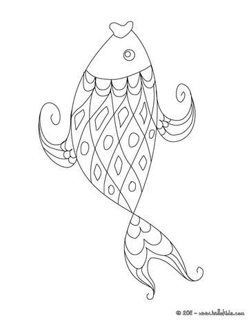 Lustiger fisch zum ausmalen zum ausmalen  dehellokidscom