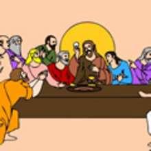 JESUS Schiebepuzzle