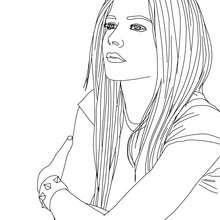Avril Lavigne Malbuch