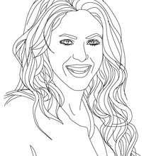 Shakira Malbuch