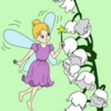 FEE mit Blumen Schiebepuzzle