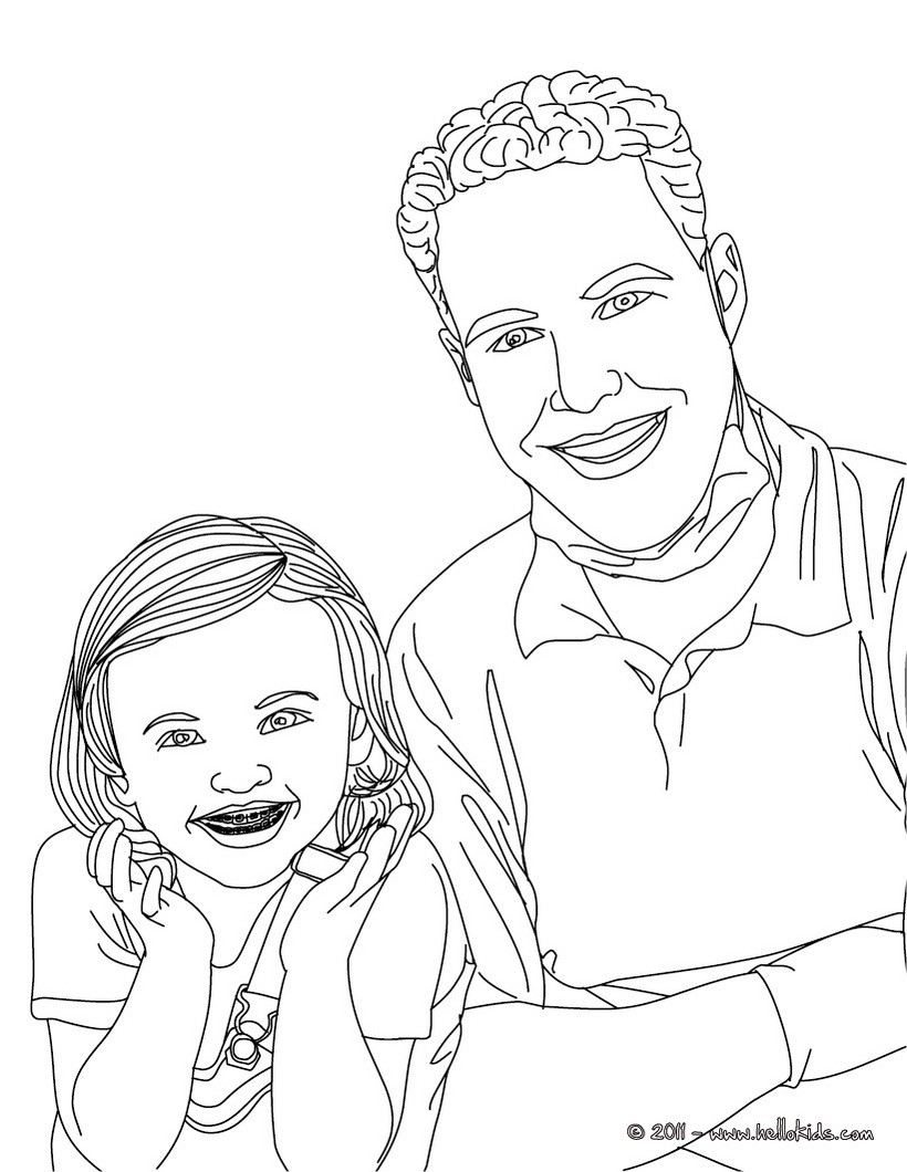 Zahnarzt und kind mit zahnspange zum ausmalen zum ausmalen for Comedores pequea os para 4 personas