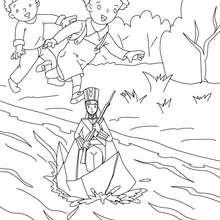 Der standhafte Zinnsoldat Märchen zum Ausmalen