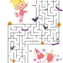 Chloes Schrank: Halloween Labyrinth