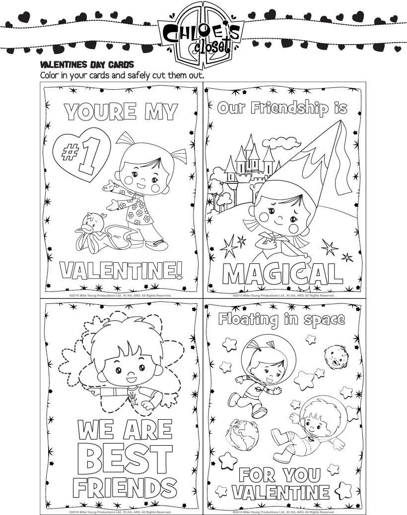 Valentinstag Karten zum Ausdrucken