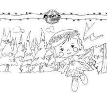 Chloe as a fairy