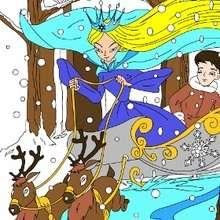 Die Schneekönigin Puzzle