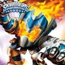 IGNITOR Skylanders online Schiebepuzzle