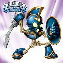 CHOP CHOP Skylanders online Puzzle