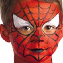 HALLOWEEN SPIDERMAN Schminke für Jungen