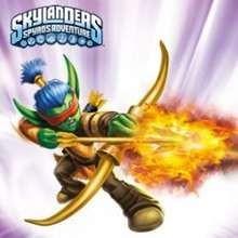 FLAME SLINGER Skylanders Schiebepuzzle