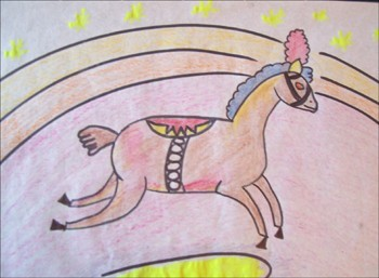Wie man ein Zirkuspferd malt