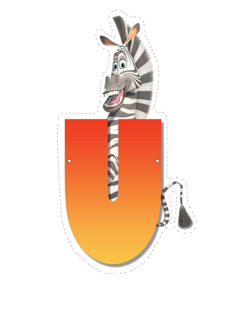 Madagascar 2: Buchstabe U