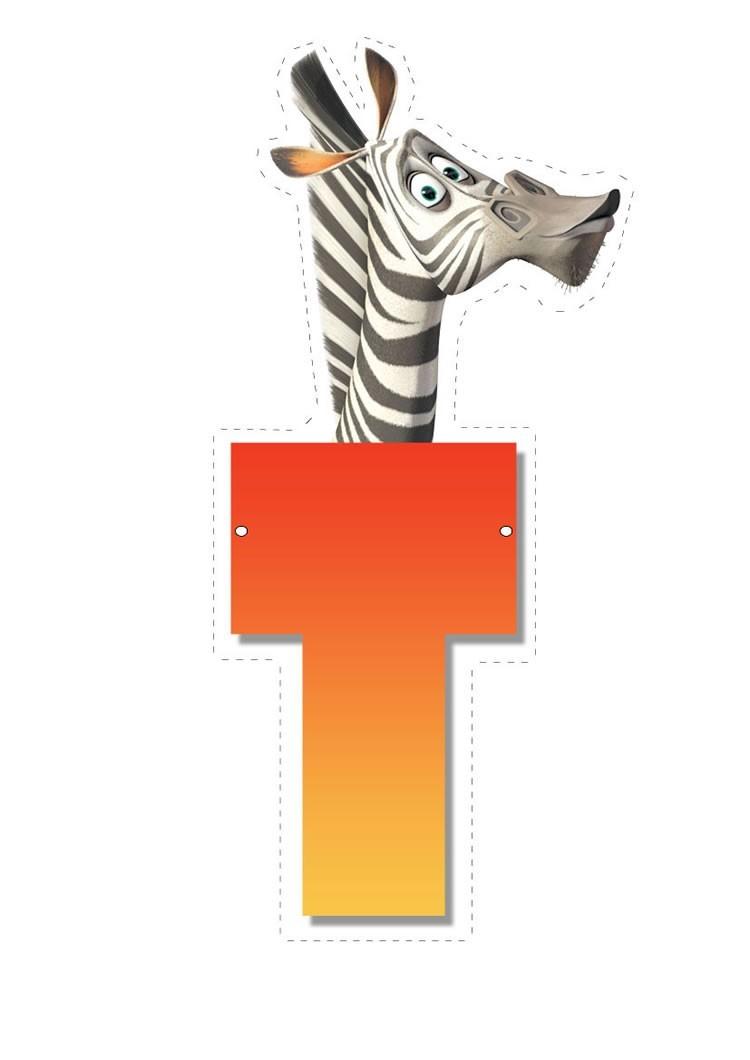 Madagascar 2: Buchstabe T