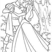 Aurora tanzt mit Prinz Philip