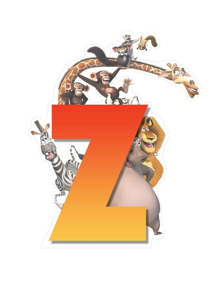 Madagascar 2: Buchstabe Z