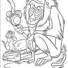 Rafiki der Affe