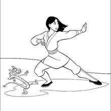 Fa Mulan und Mushu