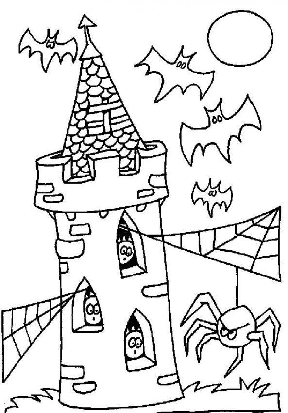Ungewöhnlich Spinnenbilder Zum Ausmalen Bilder - Beispiel ...
