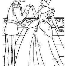 Aschenputtel mit dem schönen Prinz