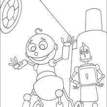 Rodney und Babyroboter