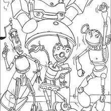 Roboter tanzen