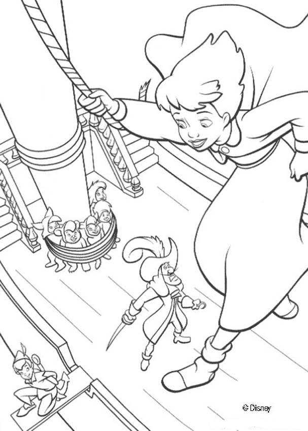 peter pan 2 coloring pages - photo#11