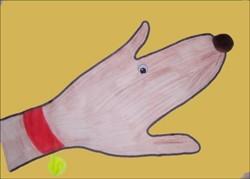 Wie du einen Hund mit deiner Hand malst