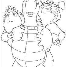 Verne, Penny und Heather