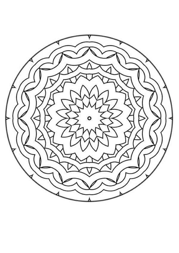 Mandalas für FORTGESCHRITTENE - Ausmalbilder - Ausmalbilder ...