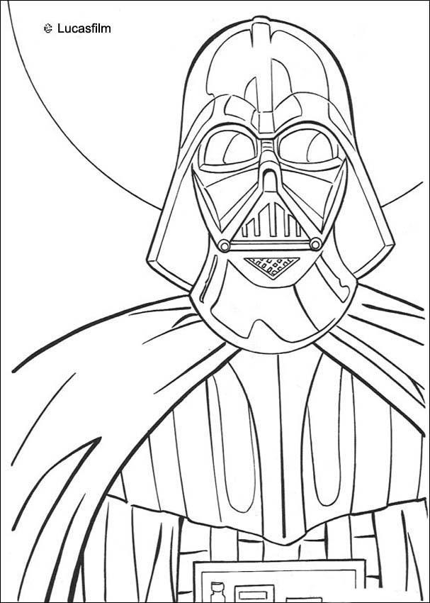 luke 16 10 coloring page - darth vader zum ausmalen