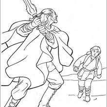 Qui-Gon Jinn und Anakin