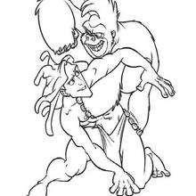 Tarzan und Kerchak