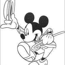 Micky Maus steppt