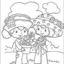 Strawberry Shortcake und ihr Freund Orange Blossom
