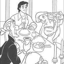 Essen mit dem Prinz