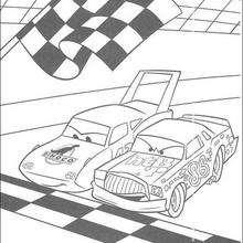 Cars: Rennen zwischen Chick Hicks und The King