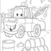 Cars: Truck chevrolet Mater