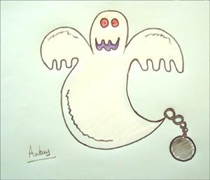 Wie man ein Halloween Gespenst malt