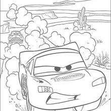 Cars: Lightning Mc Queen im Rennen