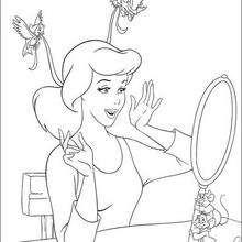 Aschenputtel und der Spiegel