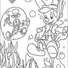 Pinocchio und Jiminy 1