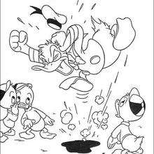 Donald Duck ist böse