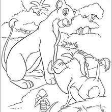 Simba mit Freunden