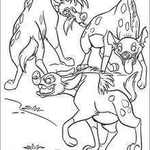 Drei Hyänen
