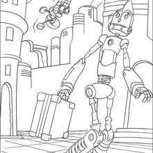 Rodney in der Roboterfirma