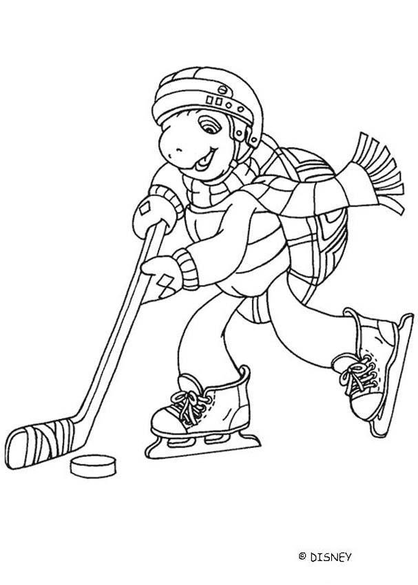 Hockey : Ausmalbilder, Videos für Kinder, Lesen, Basteln, Hellokids ...