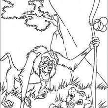 Rafiki und Simba